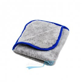 Super Shine Grey Plush Cloth